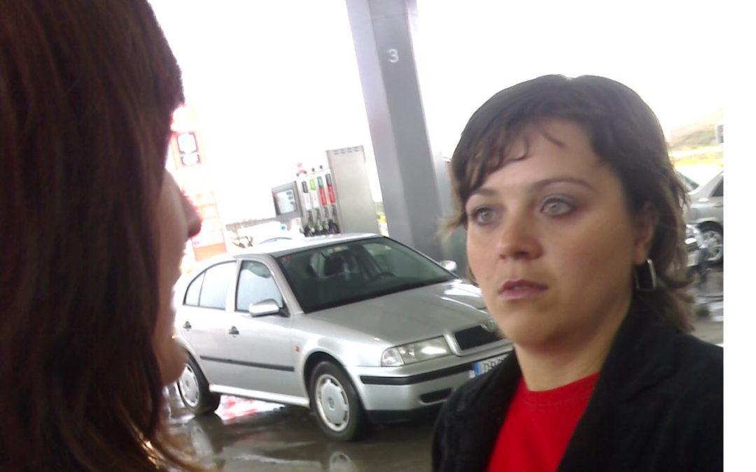 María Da, pillada in fraganti