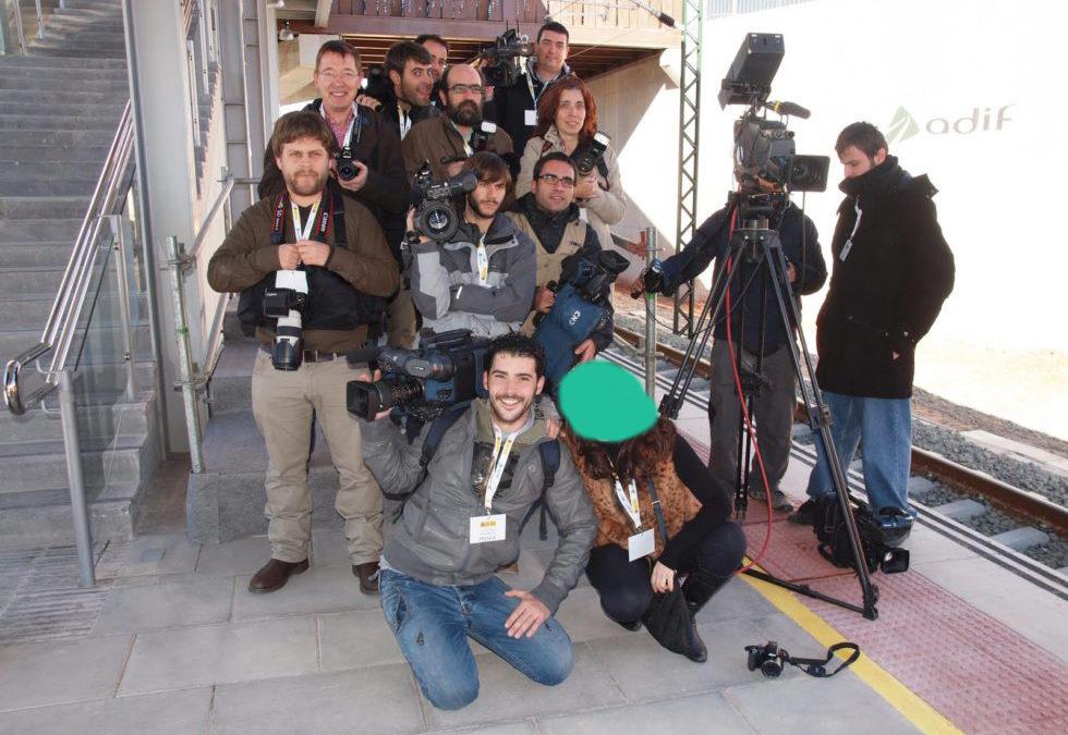 Vieron a los Príncipes inaugurar la estación del AVE de Cuenca