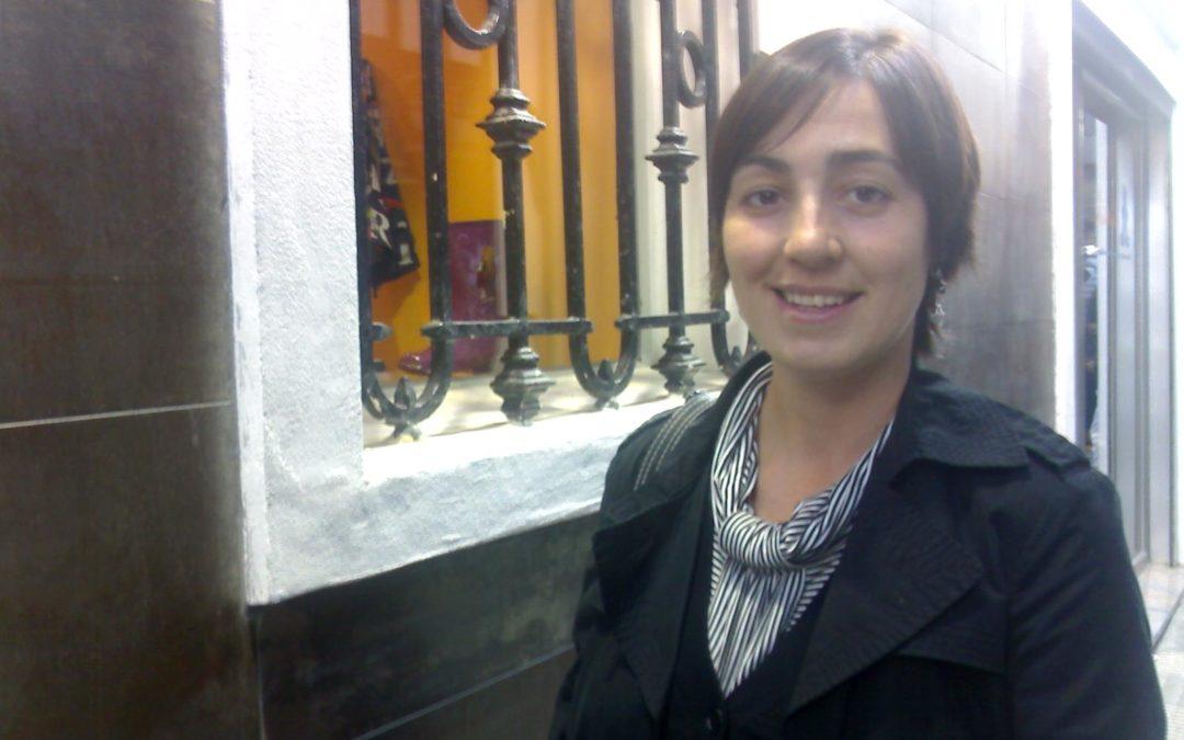 Isabel CEOE vuelve «al tajo» después de su segunda maternidad
