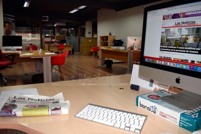 Medios de comunicación de Cuenca cambian sus rutinas por el coronavirus