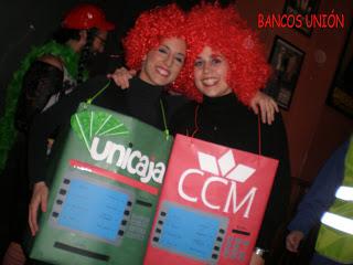 El mejor disfraz 2009 fue para «Bancos Fusion»