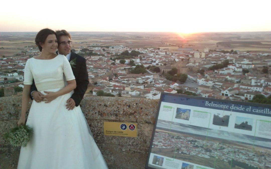De boda….