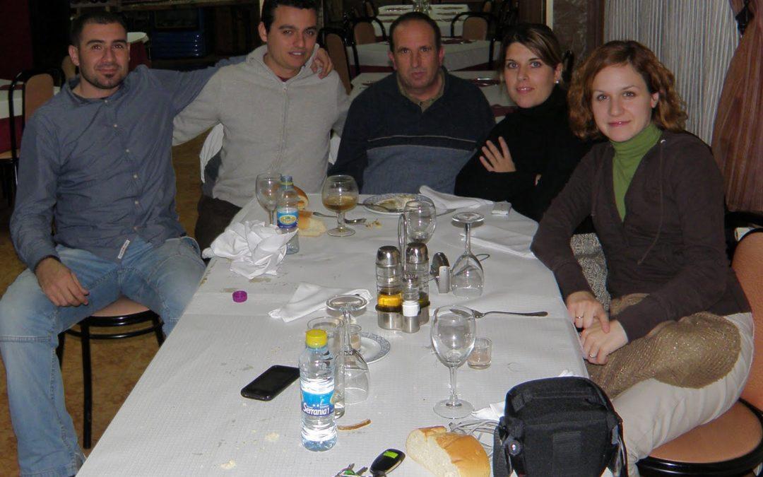 La «cena Isass» en La Almarcha cierra el atracón de cenas navideñas de medios