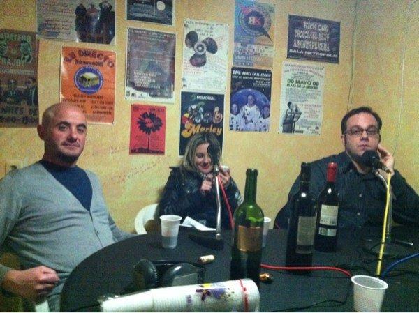 Huertas de Cuenca y Jonatas en el «Club de los Malos Pensamientos»