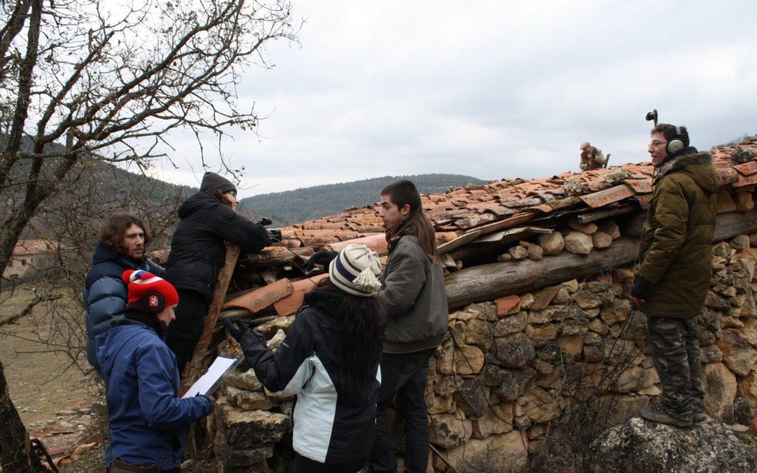 Caras conocidas en el rodaje de un cortometraje en Cuenca