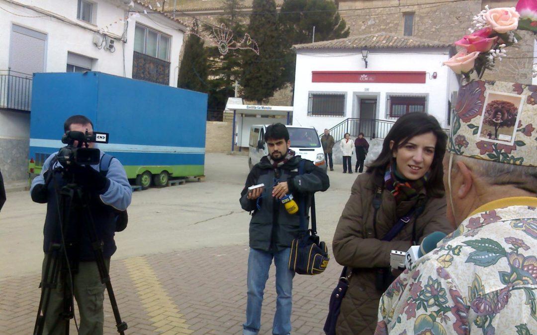 «La endiablada», centro de reunión de medios informativos