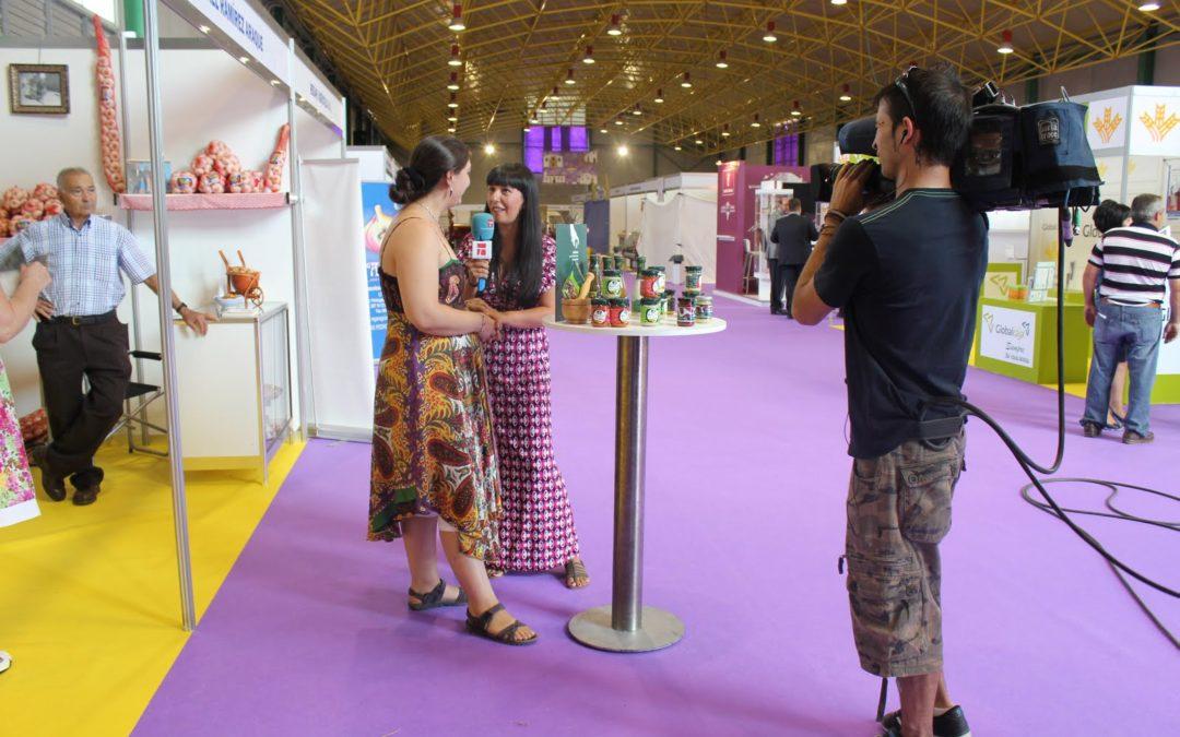 CMT y RNE los medios que más siguieron la Feria Internacional del ajo en Las Pedroñeras