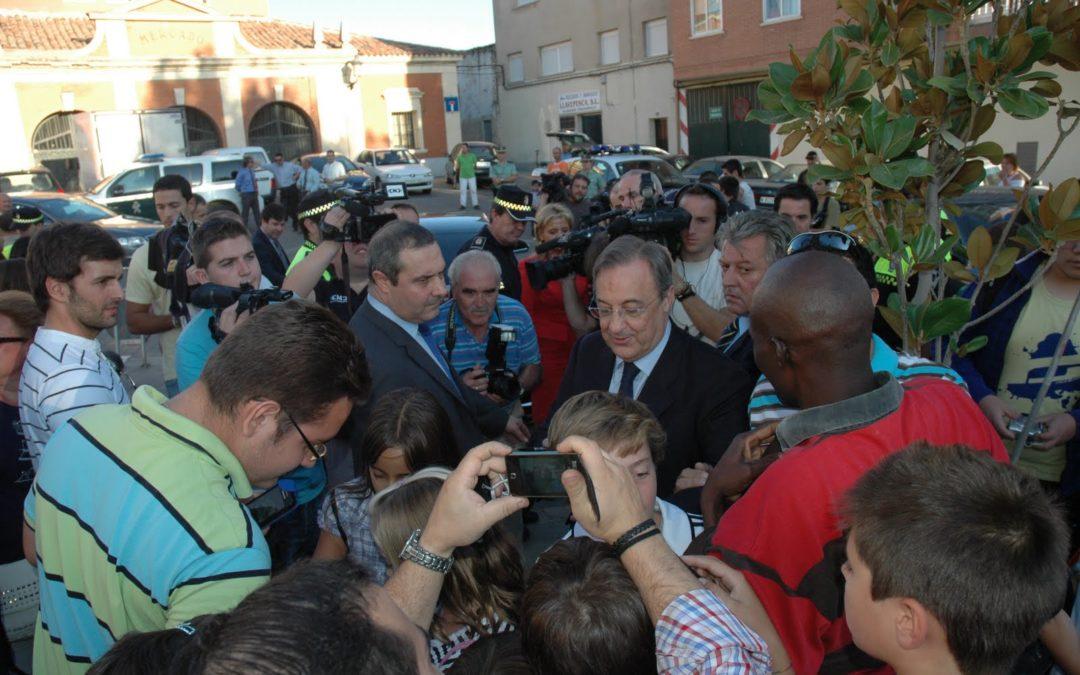 Florentino Pérez pone «patas arriba» Tarancón
