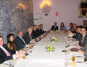 GlobalCaja con los medios de Cuenca