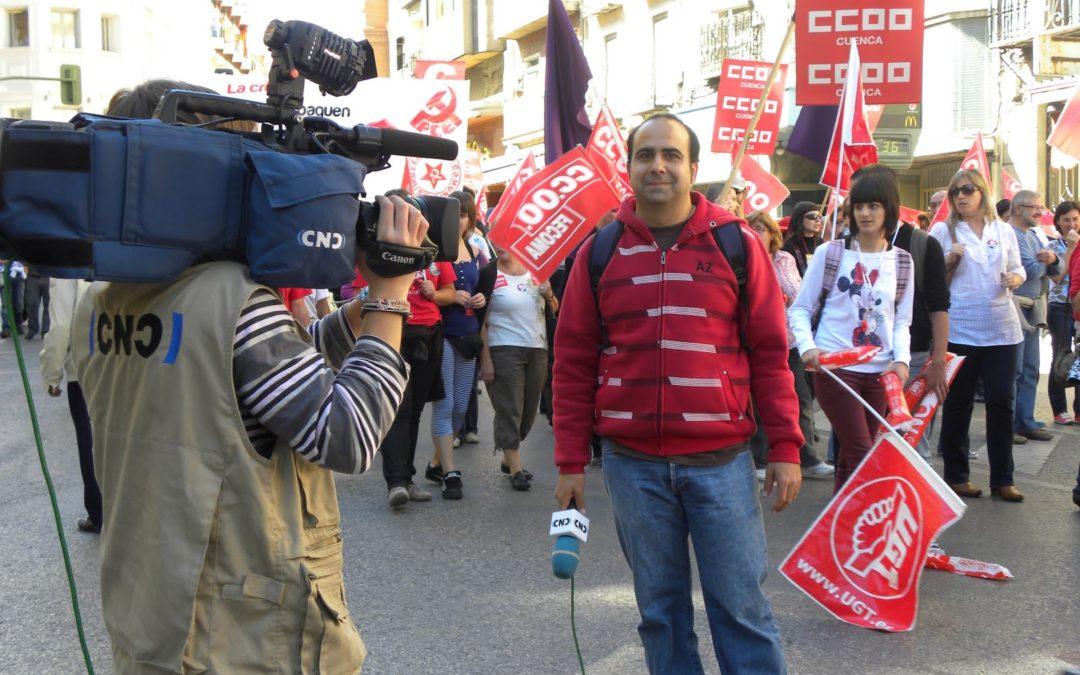 Corte en las emisoras de radio, mucho trabajo y escasa participación de los trabajadores de los medios en la Huelga General del 29S