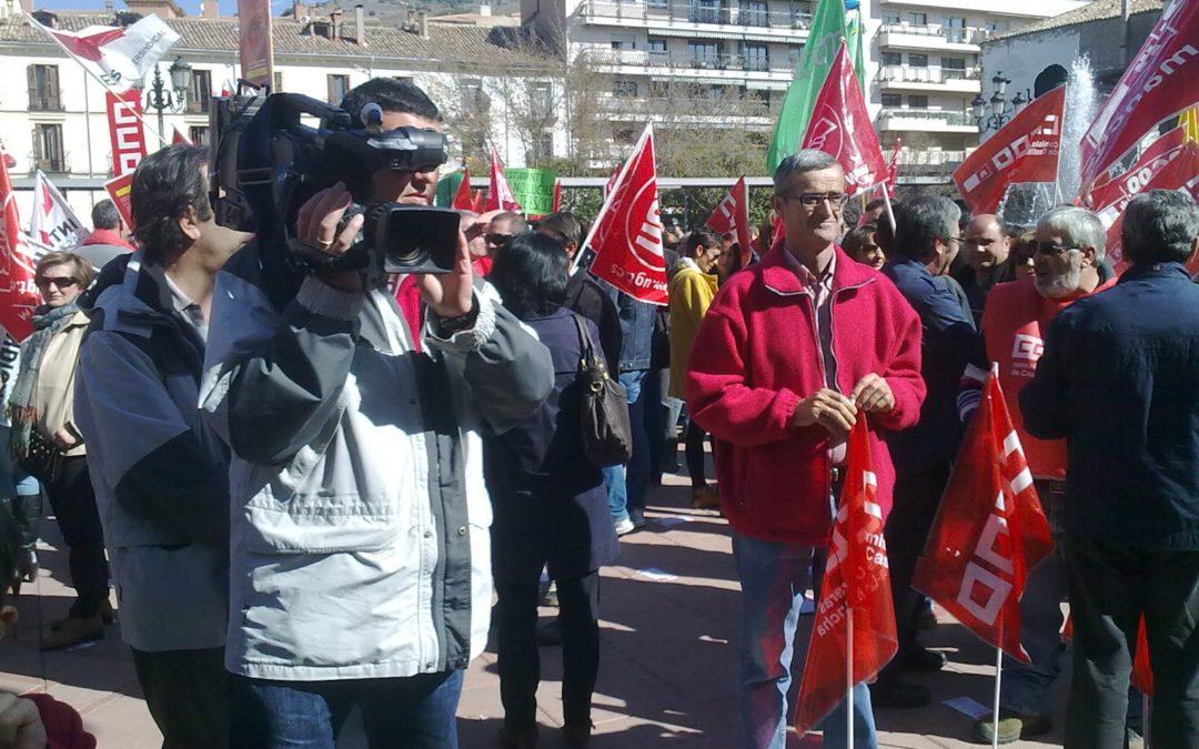 CNC y pocos más secundan la huelga general del 29-M