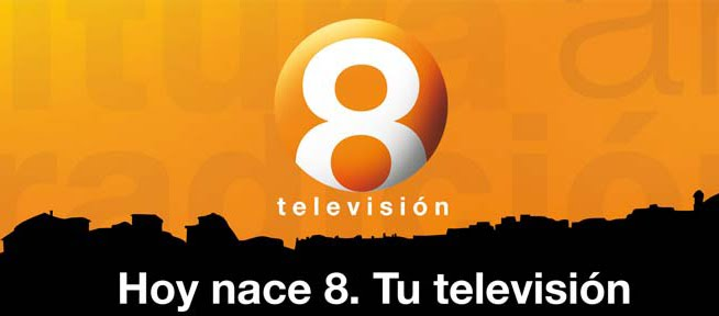 8 Televisión dejará de emitir el próximo 7 de junio
