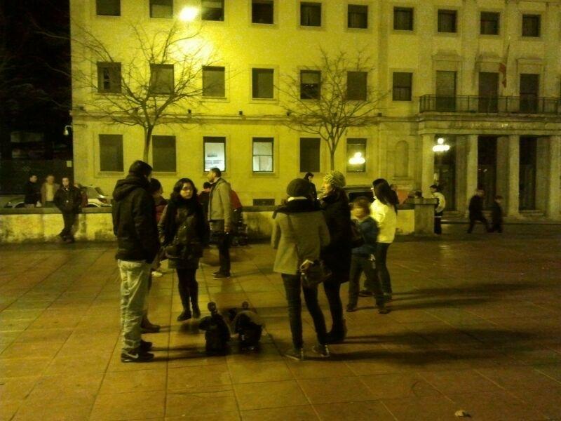 Más Prensa peoples que manifestantes