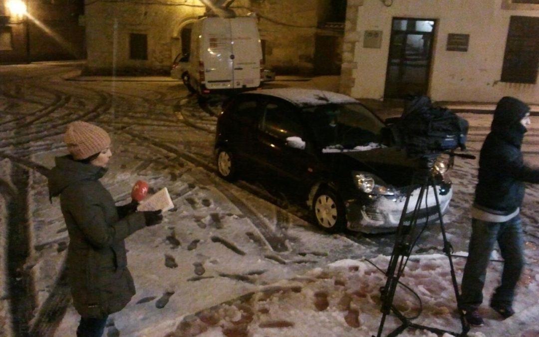 Llega la primera gran nevada a la provincia de Cuenca
