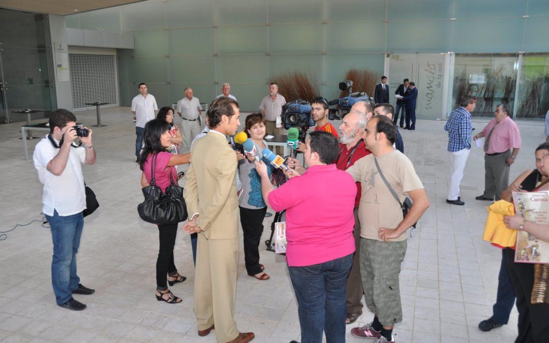 Presentación de la Feria Taurina en Ars Natura