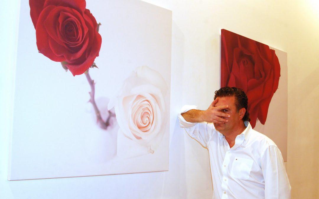 Carlos Rex presenta «Rojo y Blanco» en la Sala Cruz Novillo de Cuenca