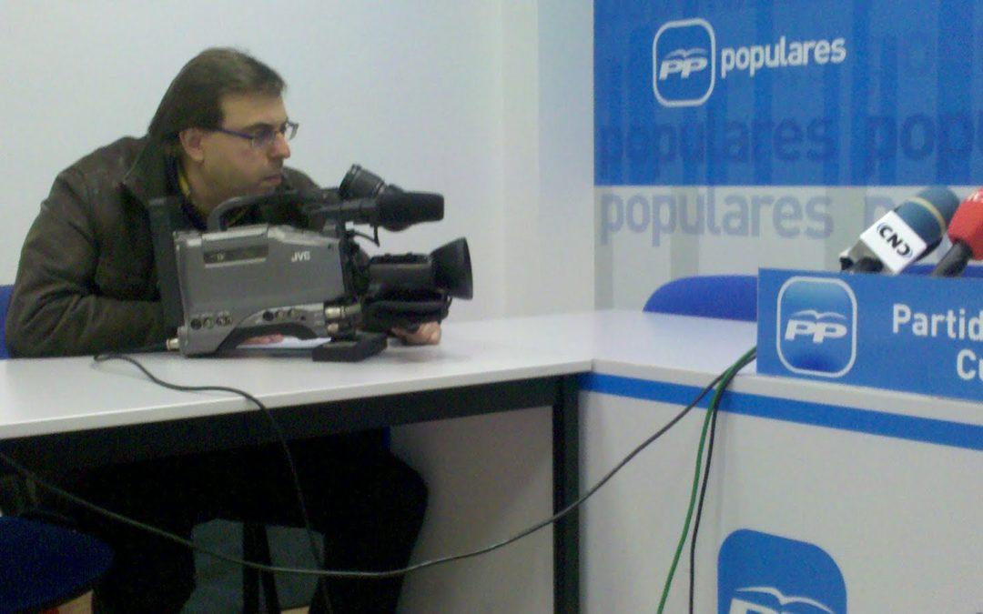 Nuevo medio televisivo en las ruedas de prensa de Cuenca