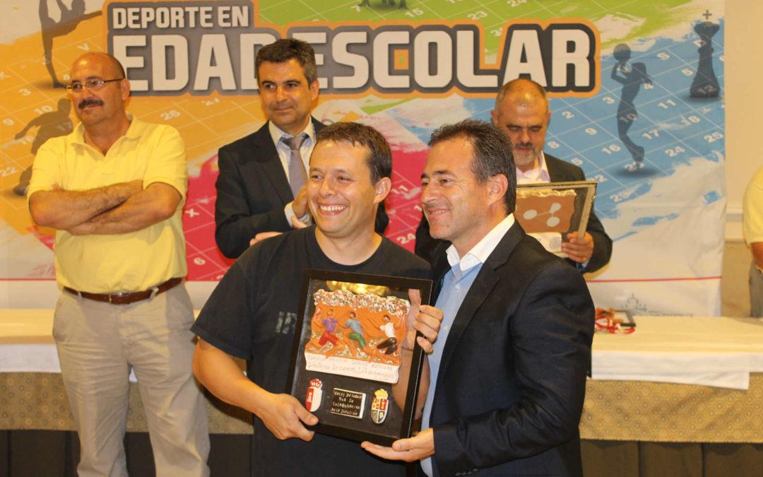 Voces de Cuenca recibe un reconocimiento en la gala del deporte escolar