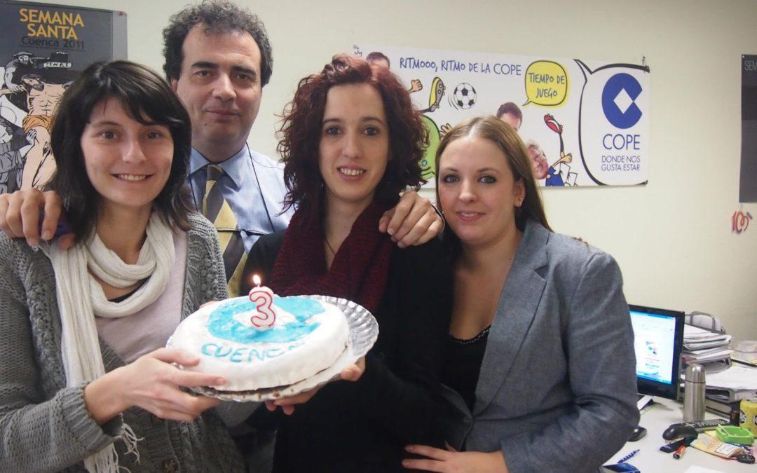 COPE Cuenca cumple 3 tres años