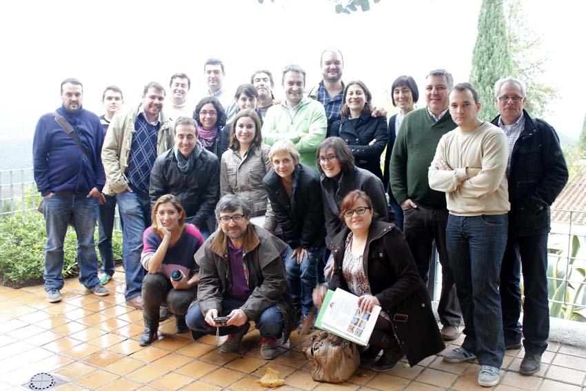 Reportaje gráfico visita El Cabril