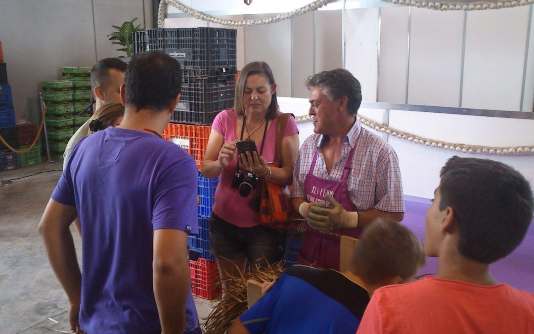 Peoples por la Feria del Ajo