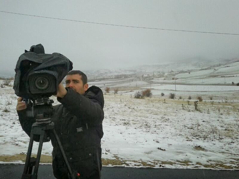 Primer «nevazo» de la temporada