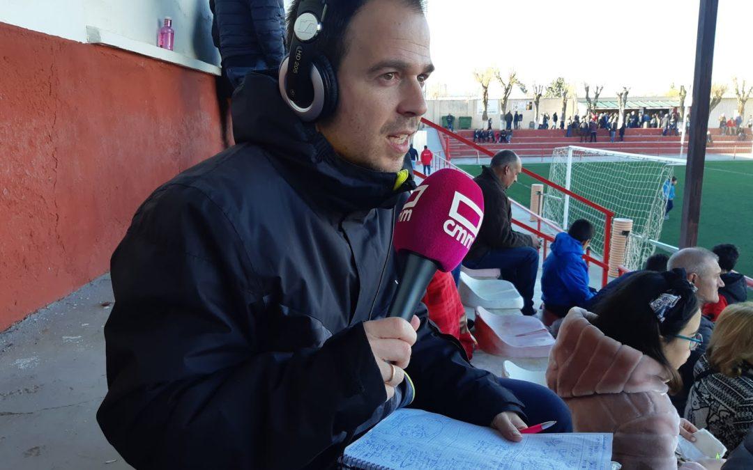La voz del Pedroñeras en los deportes de CMMedia