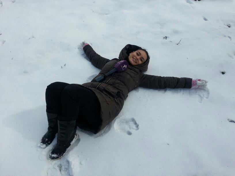 Persiguiendo la nieve
