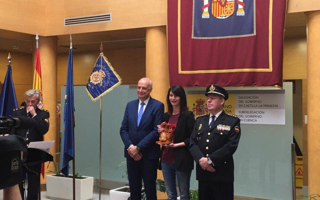 Reconocimiento de la Policía Nacional a COPE Cuenca