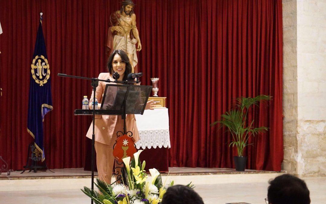 Pregón bajo guión y presentado por Carmen Alcaide