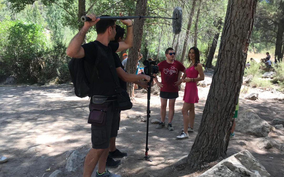 Un equipo de «A partir de Hoy» de TVE en la provincia de Cuenca
