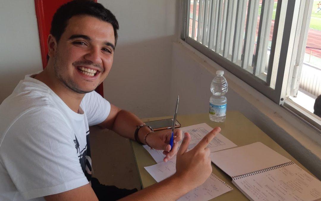 Luis Supermán con el CD Tarancón para CMMedia