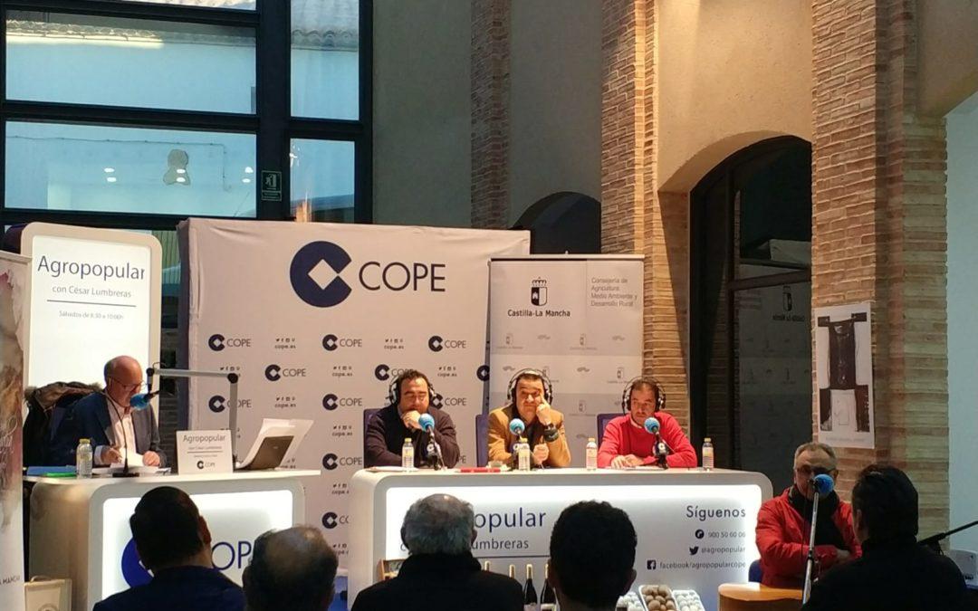 Programa nacional de COPE desde Iniesta