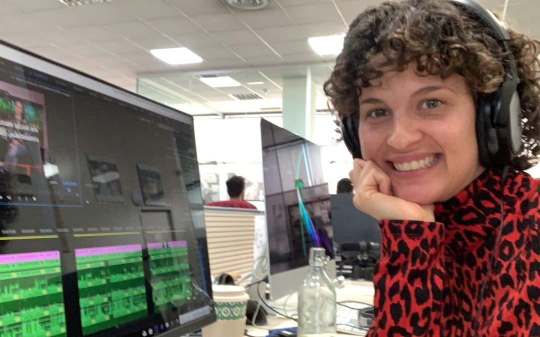 Lorena Comoto da el salto a Telemadrid