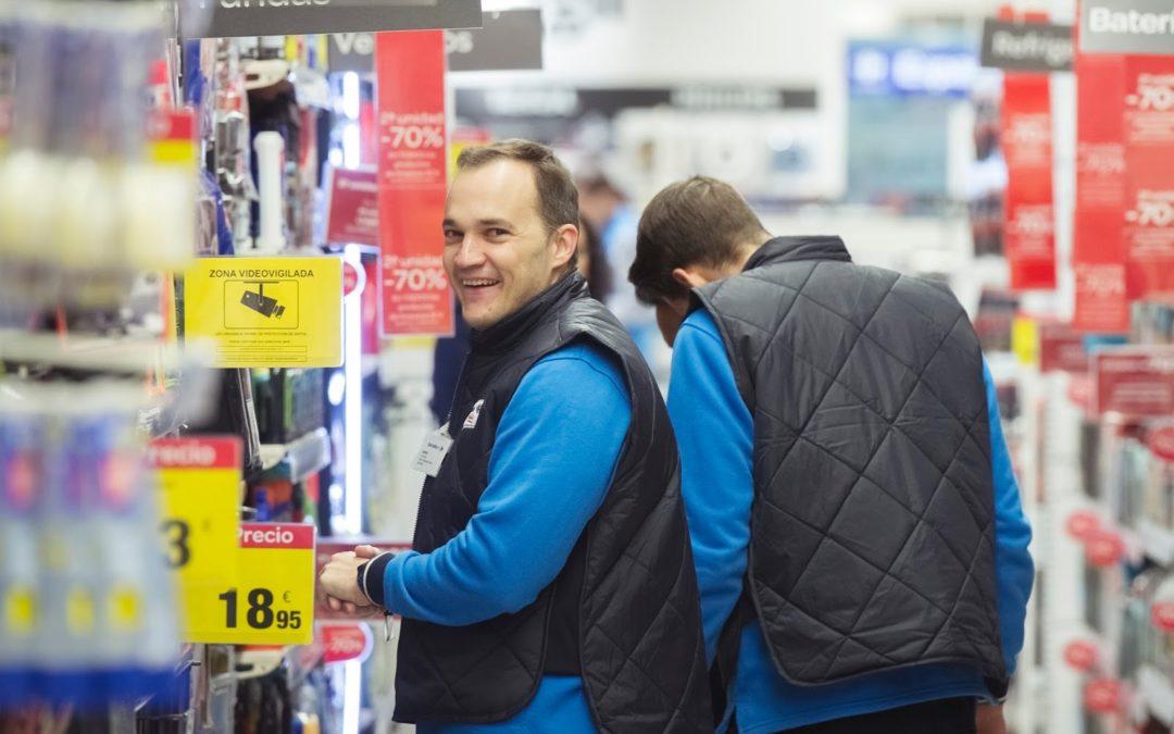 Representación people en el nuevo Carrefour