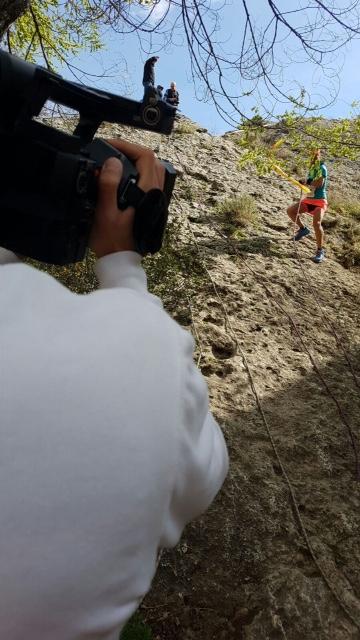 El cámara «atleta»
