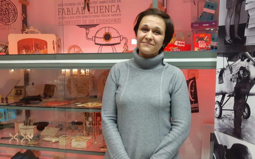 Fablab Cuenca con Delia