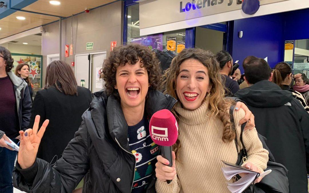 Lorena Comoto se topa con El Gordo