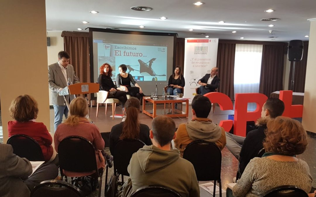 Jota Jout presenta con Cruz Roja