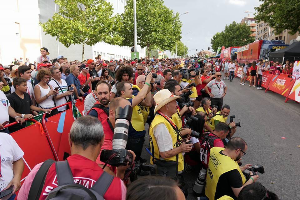 Medios internacionales en Cuenca por la Vuelta