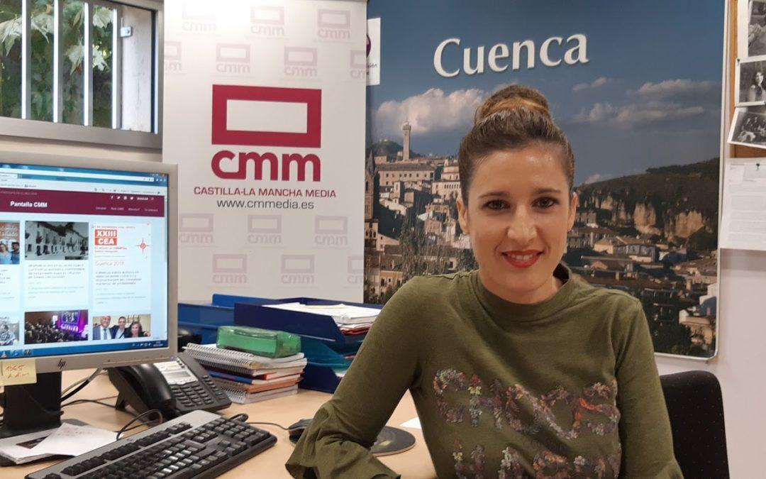 Rakel Salinero vuelve a la tele en Cuenca