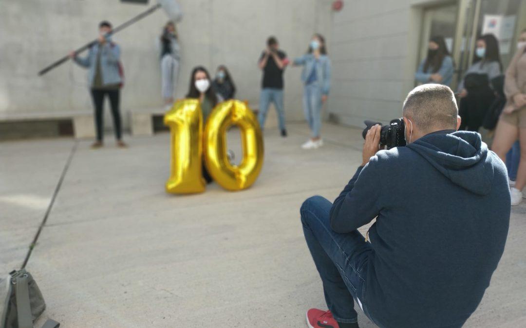Saúl El Largo en el 10 aniversario de la Facultad de Comunicación