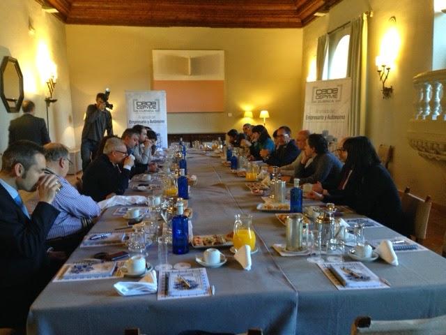 CEOE con los medios de Cuenca