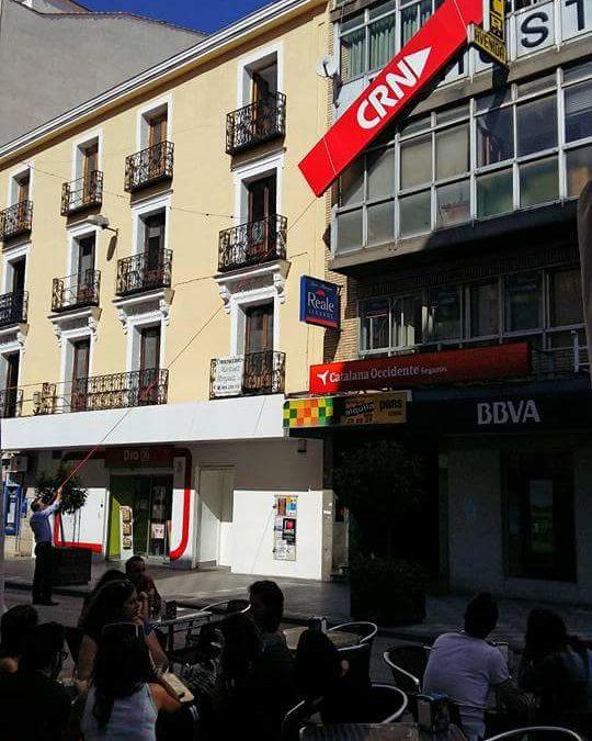 Últimos vestigios de CRN en Cuenca