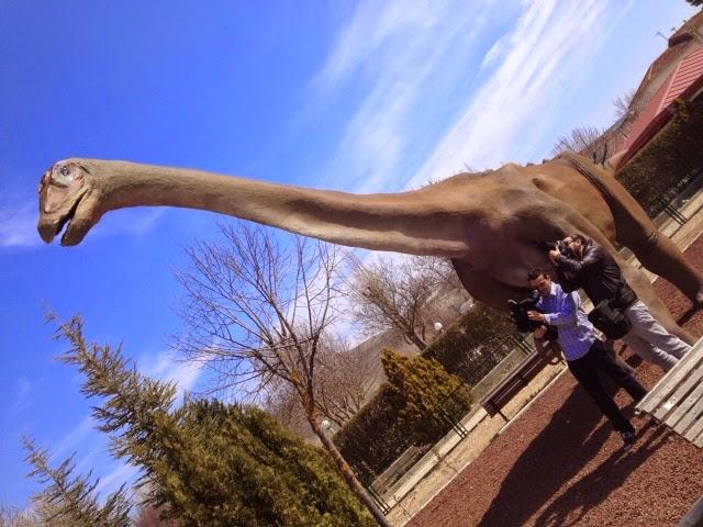 Llegan los dinosaurios a Cuenca