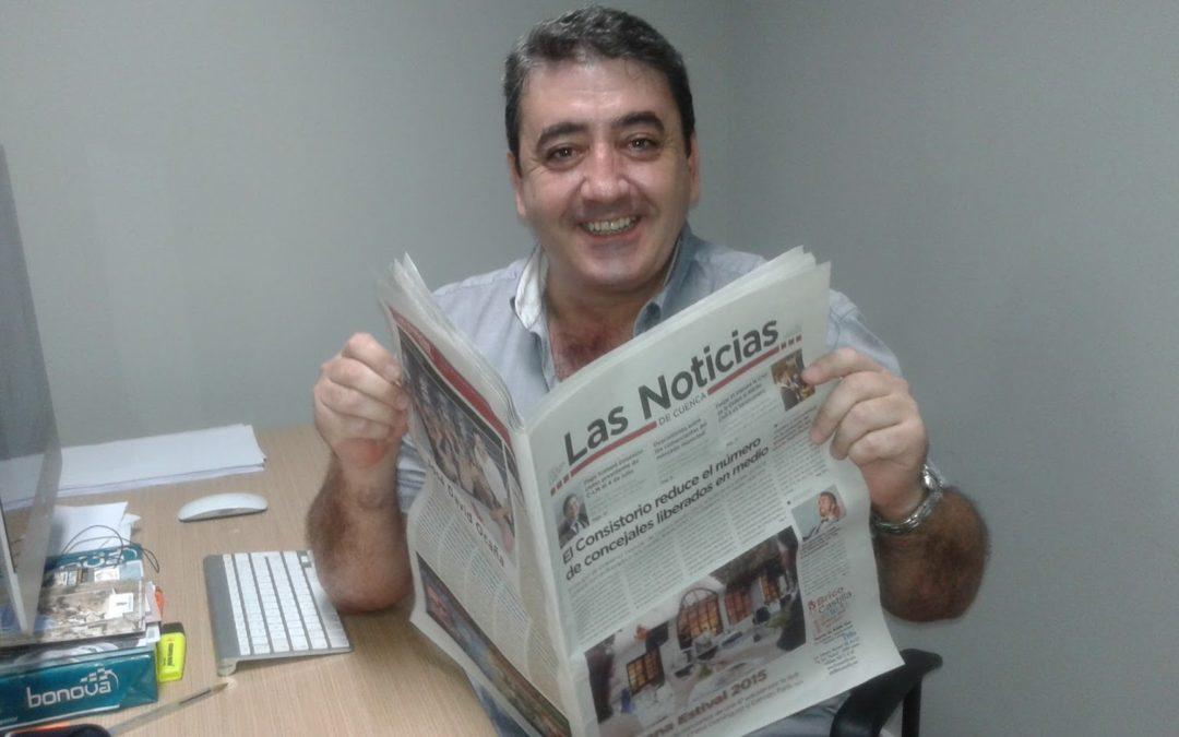 El periodismo conquense «rescata» a Miguel Ángel Ramón