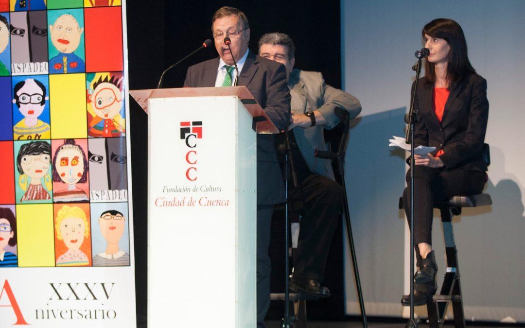 Noelia TaxiCope colabora en el 35 Aniversario de ASPADEC