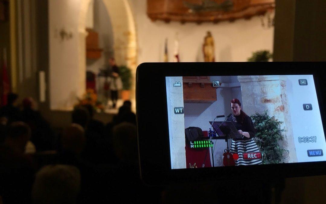 Bertis da «el pistoletazo» presentando al pregonero 2015
