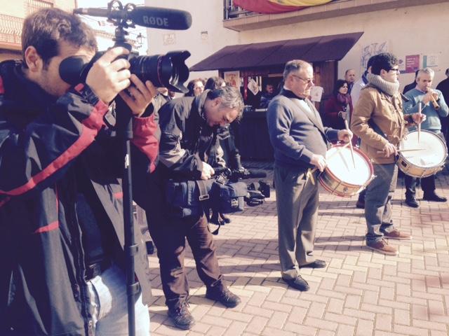 Almonacid «atrae» a medios nacionales en La Endiablada