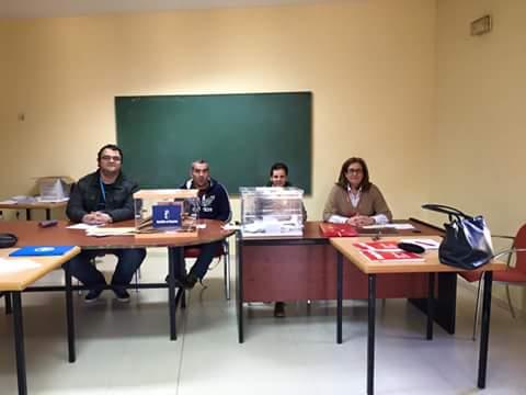 Mesa electoral para Guille Jotas